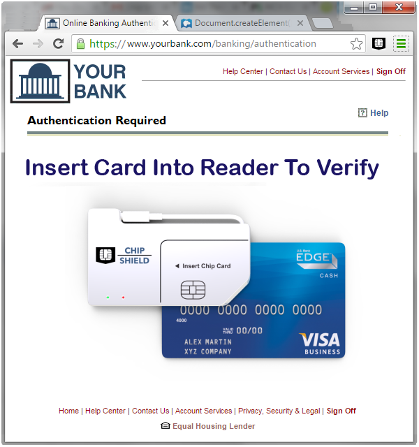 Online Banking 2-Factor Authentication